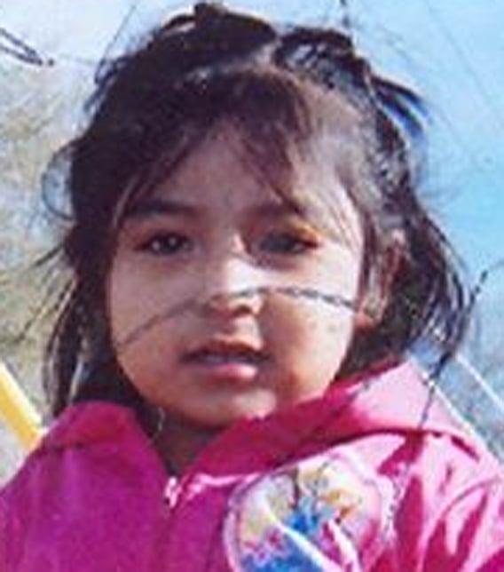 Sophia Esmeralda Martin was last seen Friday in Phoenix. (Source: Phoenix Police Department)