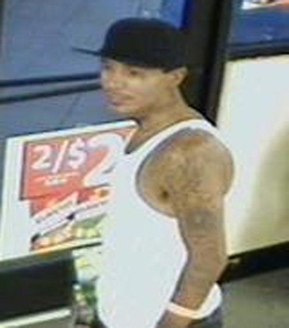 Suspect caught on surveillance camera on July 7. (Source: Peoria Police Department)