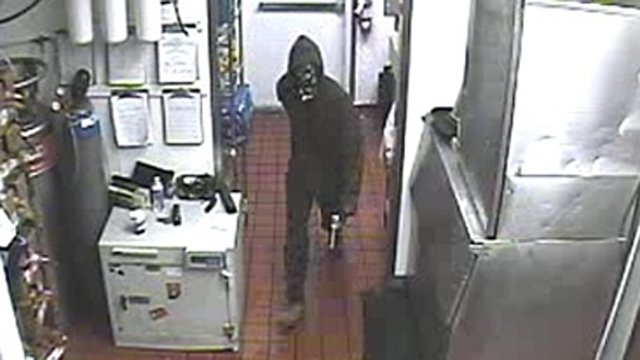 Surveillance image of Carl's Jr. burglar on June 28. (Source: Prescott Police Department)