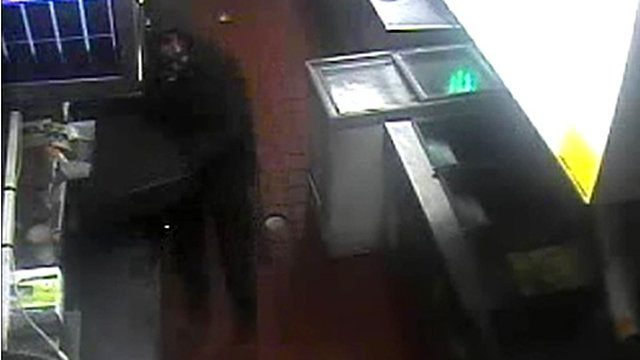 The suspect fled with an undisclosed amount of money. (Source: Prescott Police Department)