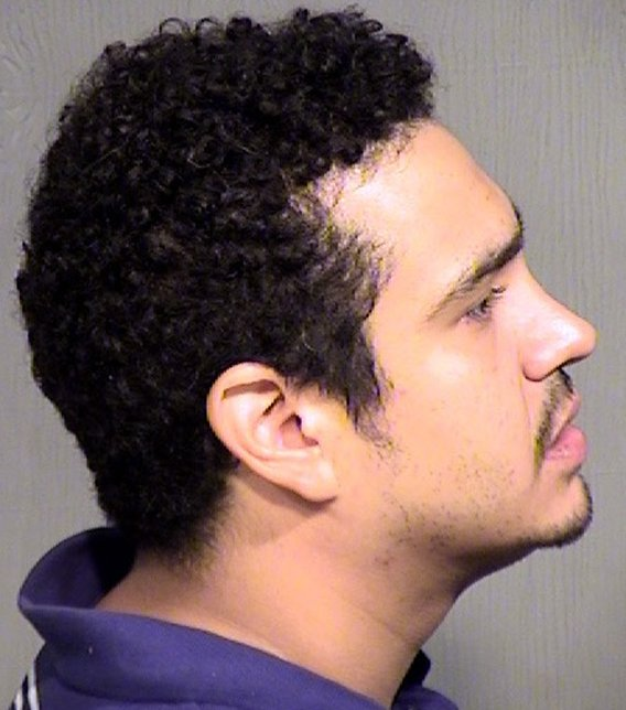 Flores faces charges of robbery and aggravated assault. (Source: Maricopa County Sheriff's Office)