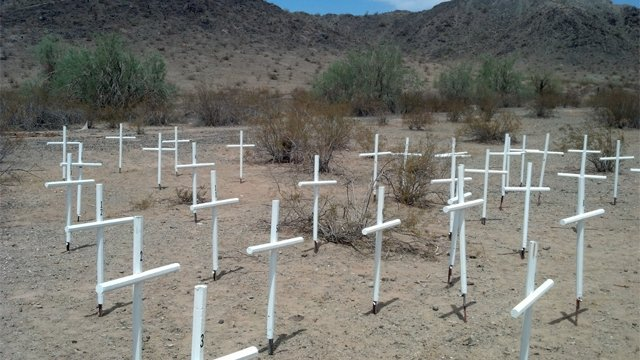At least 14 desert crossers have died since June in and around Gila Bend. (Source: Maricopa County Sheriff's Office)