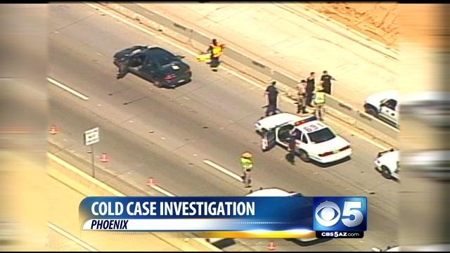 Police believe the murder was the result of a road rage incident. (Source: CBS 5 News)