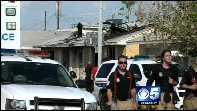 Burglary call leads to fatal house fire (Source: CBS 5 News)