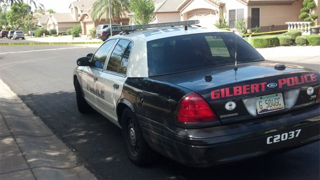 Gilbert police are looking for people with any information about the incidents. (Source: Christina Batson, cbs5az.com)