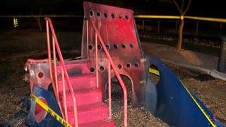 Vandalism at one of Tucson's playground