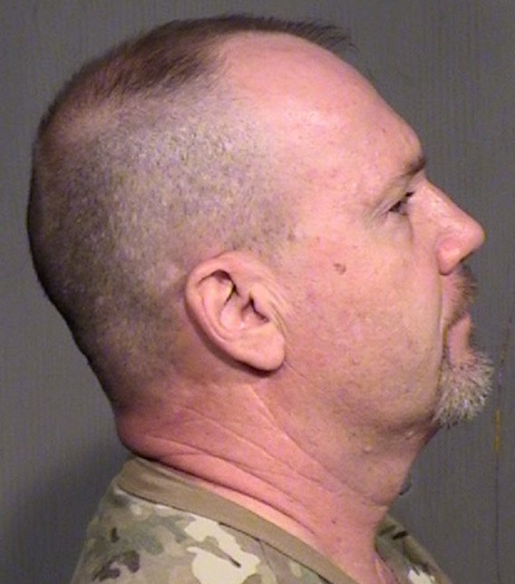 Malley was booked into jail on charges of aggravated assault. (Source: Maricopa County Sheriff's Office)
