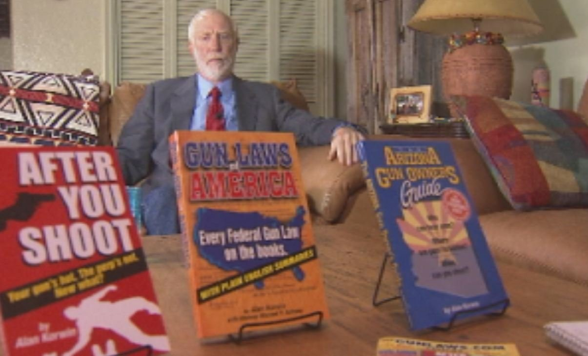 Author and gun law expert Alan Korwin disagrees with the ad.
