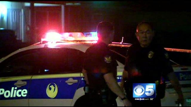 Two dead in two separate officer-involved shootings. (Source: CBS 5 News)