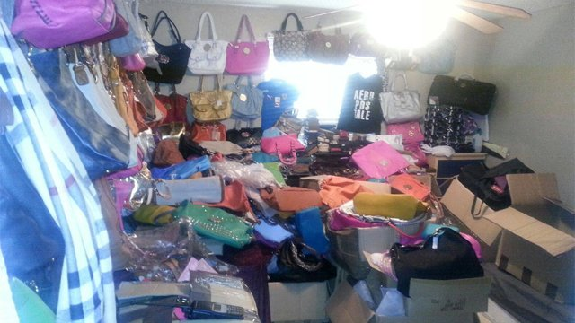 Police said the suspect had two employees working for her who admitted to knowingly selling the counterfeit goods. (Source: Phoenix Police Department)