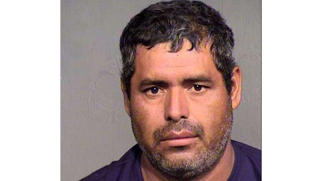 Jesus Torres, 38, was booked into the Fourth Avenue Jail on 27 counts of animal abuse. (Source: Maricopa County Sheriff's Office)