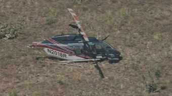 The helicopter went down in the area of Polles Mesa. (Source: CBS 5 News)