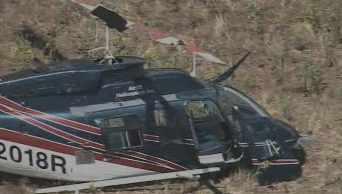 The crash site is in the Mazatzal Wilderness area. (Source: CBS 5 News)