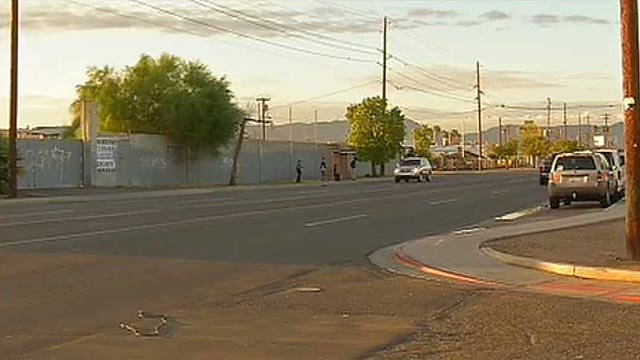 A 6-year-old girl died when the car she was in and driven by her 8-year-old brother crashed into a pole Wednesday night. (Source: CBS 5 News)