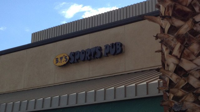 The boy was locked in a car with no air-condition in the parking lot of BT's Sports Pub near Thunderbird and Scottsdale roads. (Source: CBS 5 News)