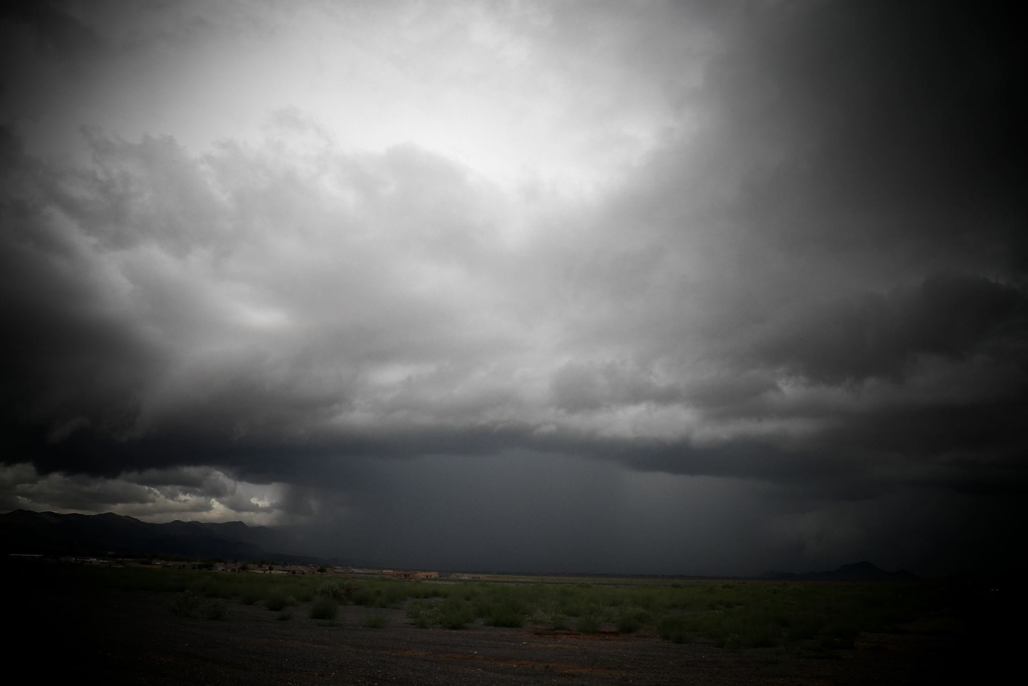 Near Kingman on Aug. 30 (Photo credit: Melinda Dougherty)