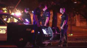 Mesa police recovered one of their stolen cruisers. (Source: CBS 5 News)