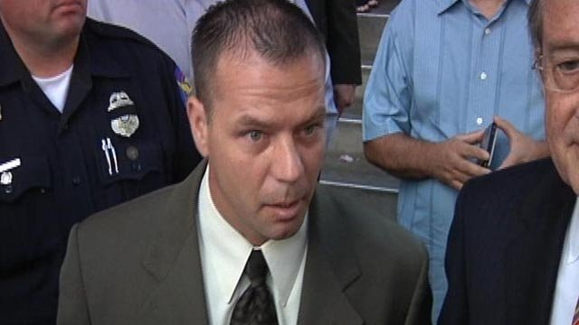 Former Phoenix police Officer Richard Chrisman. (Source: CBS 5 News)
