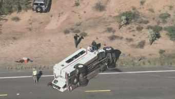Arizona DOC rolls 20 miles south of Florence. (Source: CBS 5 News)