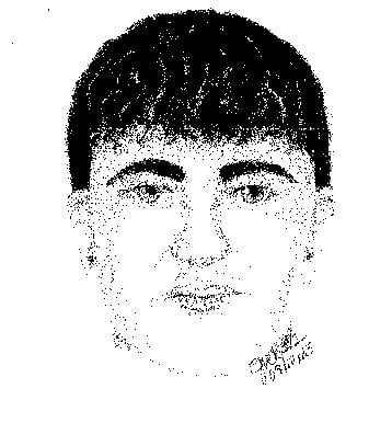 This sketch of the suspect was released by the Maricopa County Sheriff's Office on Friday.