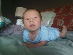 Three-month-old Jamison Gray was found unconscious in a locked car. (Source: Jamison family member)
