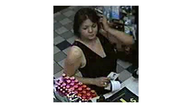 A close-up surveillance image of one of the suspects. (Source: Silent Witness)