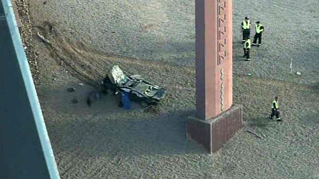 Dps fatal rollover crash on us 60 in southeast valley for Red mountain motors mesa az