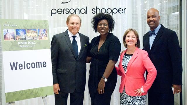 Visit Phoenix sales team and  dignitaries in DC (Source: Visit Phoenix)