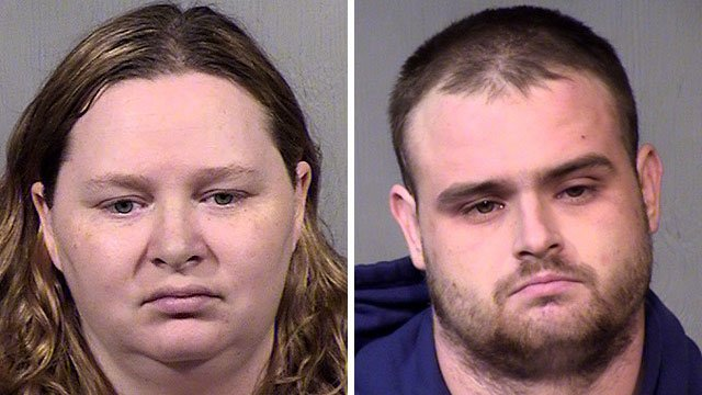 Allison Clements, left, and Ryan Reed. (Source: Maricopa County Sheriff's Office)