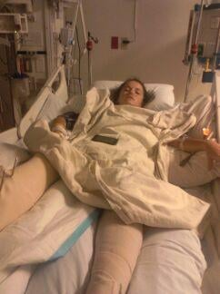 Haili recovering in Scottsdale ICU