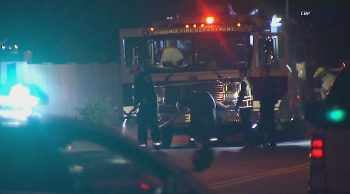 Police and hazmat crews respond for explosion in Scottsdale. (Source: CBS 5 News)