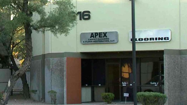 Sparta owns APEX Carpet Cleaning in Phoenix. (Source: CBS 5 News)