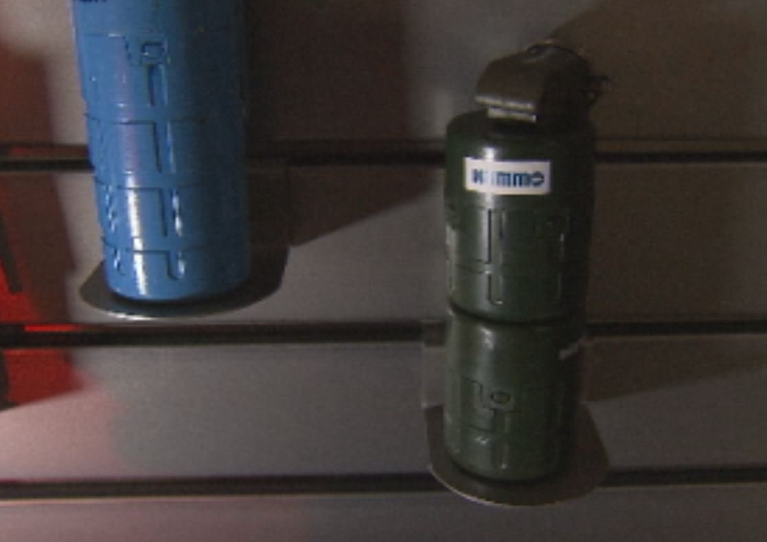 Nammo Talley's newest, high-tech grenade.