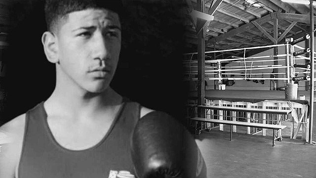 Alexis Urbina was a promising young fighters, recalls boxing writer Don Smith. Urbina died in September, a case Phoenix police are treating as a homicide. (Source: Urbina family photo)