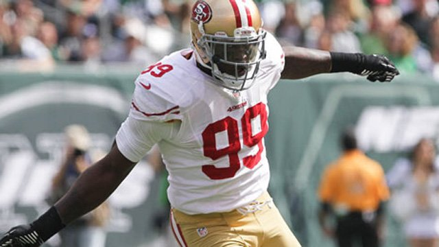 Aldon Smith (Source: San Francisco 49ers)