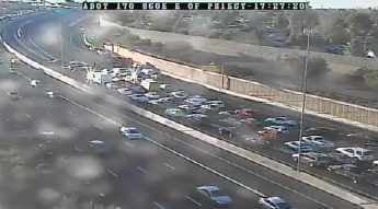 U.S. 60 crash at Mill Avenue in Tempe (Source: ADOT)