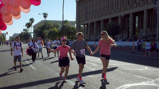Komen Phoenix Race for the Cure (Source: CBS 5 News)