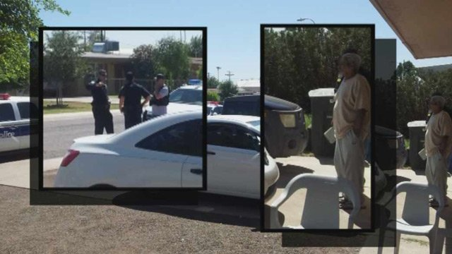 Phoenix police staked out the Montes home some 13 hours before a home invasion in which Enrique Montes, right, was shot to death. (Source: Montes family)