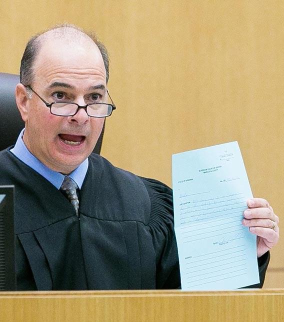 Judge Joseph Kreamer (Source: Pool image)