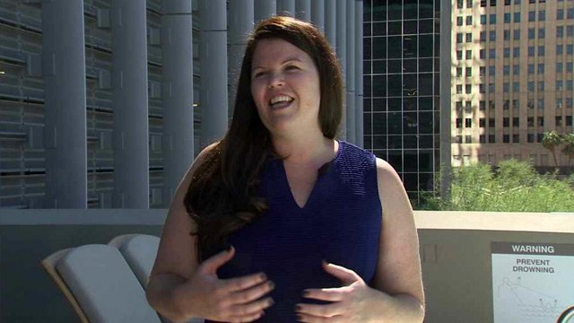 Carrie Severson is proud of her program that helps young girls survive the taunts of bullying. (Source: CBS 5 News)