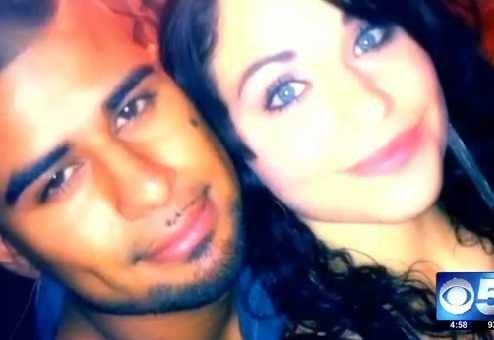 Kristen Furgeri and her boyfriend, Jose Alonso Villa
