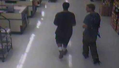 Two persons of interest were seen on surveillance tape. (Source: Phoenix Fire Department)