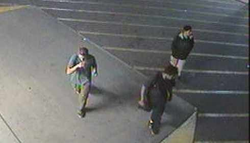 Several persons of interest caught on tape. (Source: Phoenix Fire Department)