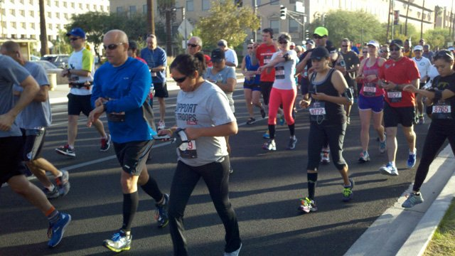 3rd Annual Phoenix National Veterans Day Run (Source: Steve Aron, cbs5az.com)
