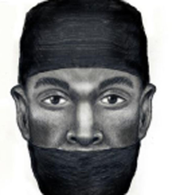 A composite sketch shows how both suspects might appear. (Source: Silent Witness)