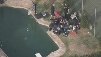 Child critical following drowning call in Glendale. (Source: CBS 5 News)