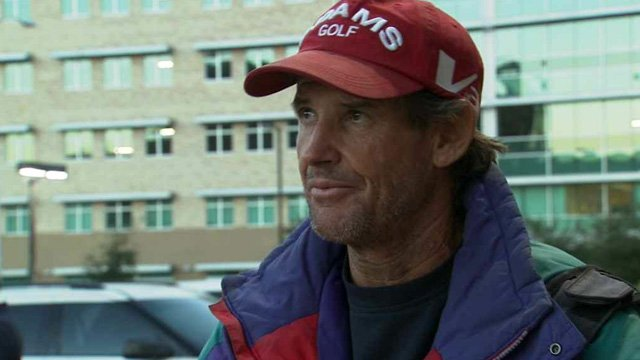 John Hyslope has been on the streets for 26 years and says he got sober on his own. (Source: CBS 5 News)