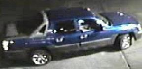 Suspect's getaway vehicle. (Source: Silent Witness)