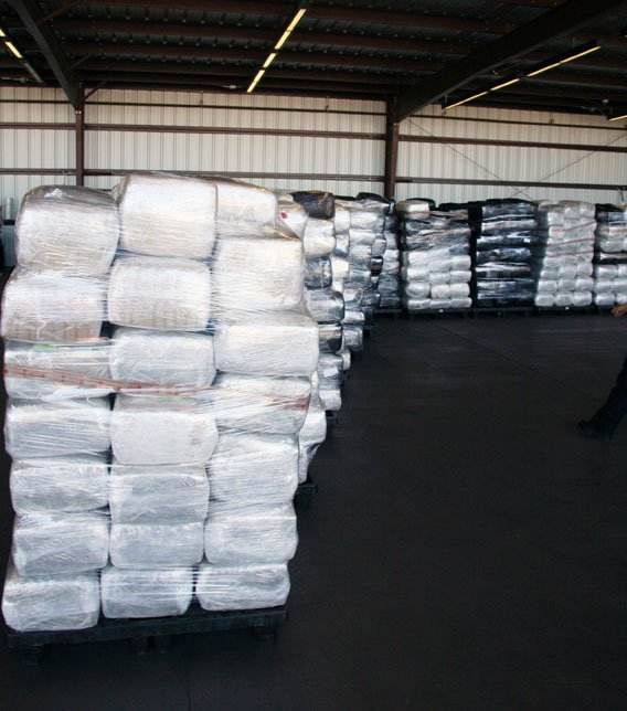 The pot weighed 20,375 pounds. (Source: U.S. Customs and Border Protection)