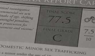 "Arizona scores ""C"" for its efforts against trafficking"